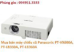 Mua bán máy chiếu cũ Panasonic PT-VX600A, PT-LB330A, PT-LB360A