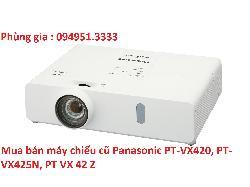 Mua bán máy chiếu cũ Panasonic PT-VX420, PT-VX425N, PT VX 42 Z