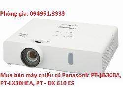 Mua bán máy chiếu cũ Panasonic PT-LB300A, PT-LX30HEA, PT - DX 610 ES