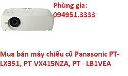 Mua bán máy chiếu cũ Panasonic PT-LX351, PT-VX415NZA, PT - LB1VEA