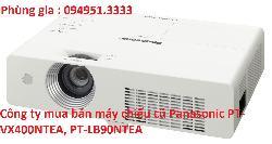 Công ty mua bán máy chiếu cũ Panasonic PT-VX400NTEA, PT-LB90NTEA