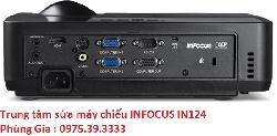 Trung tâm sửa máy chiếu INFOCUS IN124 uy tín giá rẻ