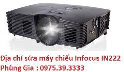 Địa chỉ sửa máy chiếu Infocus IN222 giá rẻ hà nội