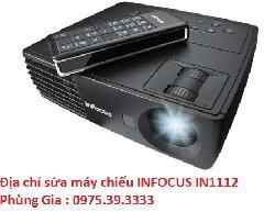 Địa chỉ sửa máy chiếu INFOCUS IN1112 lấy ngay hà nội
