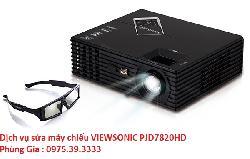 Dịch vụ sửa máy chiếu VIEWSONIC PJD7820HD giá rẻ uy tín