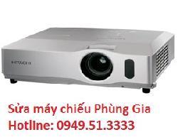 Dịch vụ sửa máy chiếu Hitachi CP-X809 lấy ngay